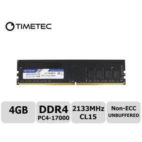 Memoria Ram 4gb Para Pc Ddr4 2133mhz Cl15 Timetec Nuevas