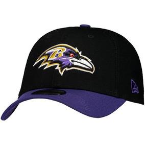 Boné New Era Nfl Baltimore Ravens Preto E Roxo 0f9385d806c
