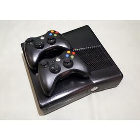 Xbox 360 Slim 320gb - Desbloqueado / Destravado C/ Jogos