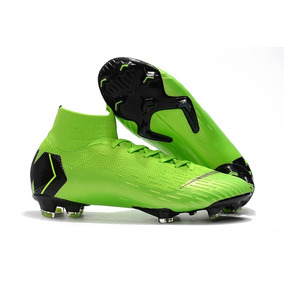 Chuteira Nike Mercurial Superfly Cr7 Gold - Chuteiras Verde no ... 7ccb6de6ee837