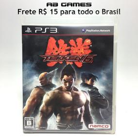 Tekken 6 Playstation 3 Ps3 Japonês Sem Riscos