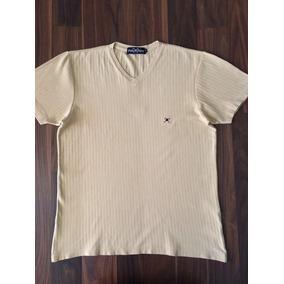 19975edfff Camiseta Masculina Polo Play Stretch P Amarela Nova Original