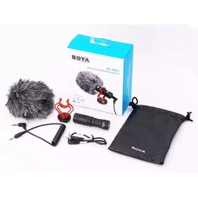 Microfone Direcional Boya By-mm1 - Para Câmeras E Celulares