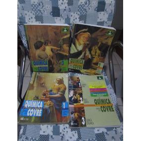 Química O Homem E A Natureza - Covre - Coleção 3 Volumes