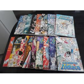 Os Cavaleiros Do Zodiaco(manga) Pacote Com 17 Revistas.