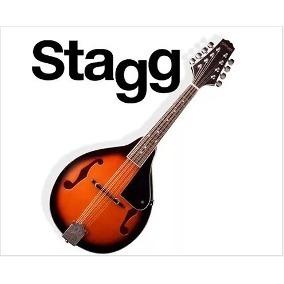 Mandolina Stagg M20 8 Cuerdas Sunburst