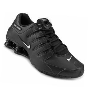 pretty nice 96bc6 b68ee Tênis Nike Shox Nz Masculino Preto Original - Frete Grátis