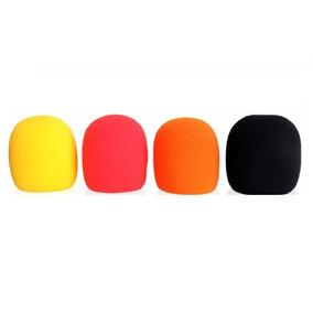 Tw Capuchon De Microfono Filtro Antipop Colores Unidad