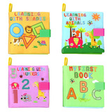Libros De Bebé De Tela, Juguete De Desarrollo De Aprendizaje