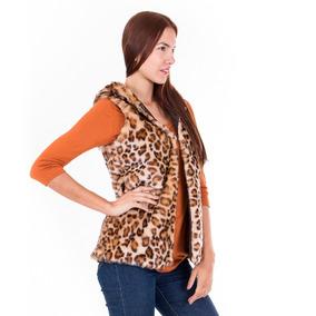Chalecos Cuello Redondo de Mujer en Mercado Libre México 586cf4b4a7f6