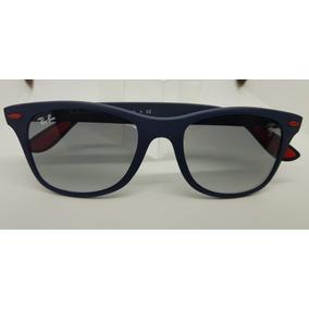 bd8ac14cd Oculos Ray Ban Wayfarer Azul - Óculos no Mercado Livre Brasil