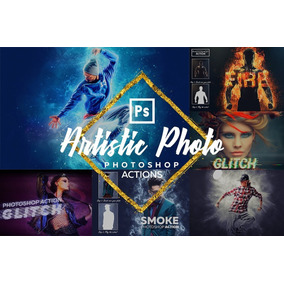 Artistic Photoshop Action Bundle - 1595427