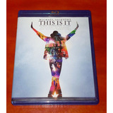 Blu Ray Michael Jackson This Is It