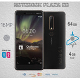 Nokia 6.1 Dual Sim 64gb 4gb Ram 16mp Huella Tarjeta Credito