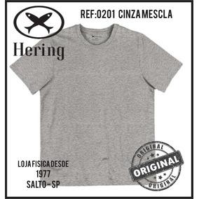 Camiseta Hering Combo 4 Peças Manga Curta Original