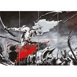 Afro Samurai Manga Animado Arte Gigante Impresión Para El...