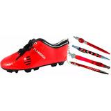 196d4c942d Flamengo Kit Escolar Estojo Chuteira + Canetas Presentes