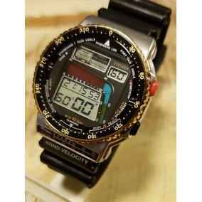 ee327d4de53 Relogio Citizen Wind Surf (raro) - Relógios no Mercado Livre Brasil