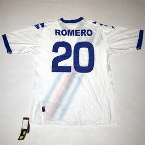 Camiseta De Sampdoria Kappa Blanca Talle Xl  20 Romero Nueva 5b4bce202d2d4