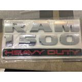 Emblema Dodge Ram 1500, 2500, 3500 (2 Unidades)
