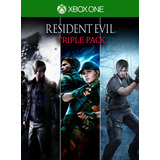 Resident Evil Triple Pack Para Xbox One Online