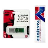 Memoria Flash Kingston 64gb Datatraveler 101