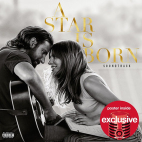 Cd Lady Gaga & Bradley Cooper A Star Is Born Target C/poster