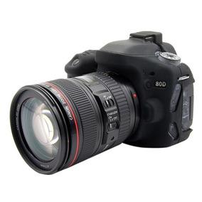 Puluz Suave Silicona Estuche Protector Para Canon Eo 80d