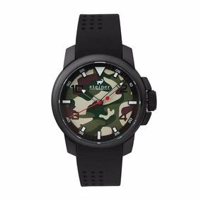 Reloj Analógico Steiner Fondo Camuflaje St22449h