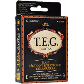 Teg Tradicional Cartas Juego De Mesa New Yetem
