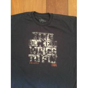 Camiseta Brooksfield Junior 100% Algodão Tamanho 16 Azul Mar 9a7e2ef5d5187