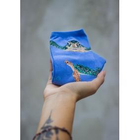 Calcetines De Moda Animales, Tortugas, Mujer, Manatí Hotsox