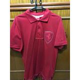 4e84df430c Camisa Camiseta Polo Ferrari Oficial Puma Original