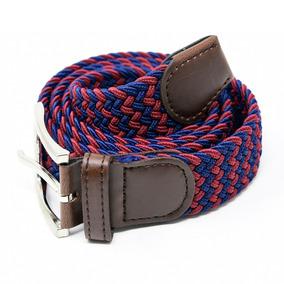 Cinturón Elastico Trenzado Caballero Marca Corda Tinto 23