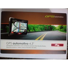 Gps Automotivo Tela 4.3 Guia Quatro Rodas