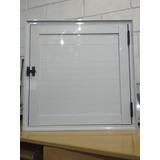 Porta Abrigo De Aluminio Lambril 60x60 L25 Branco
