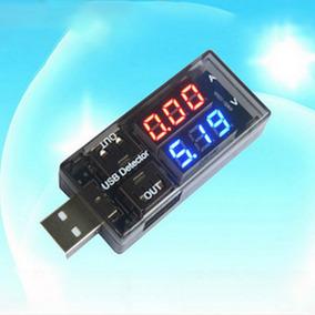 Amperímetro Voltímetro Testador Usb Digital