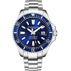 Reloj Stuhrling Pro Sport Azul 100 M