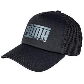 1848fc588bef3 Gorra Puma Style Trucker 021706-01 Negro Caballero Oi