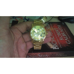 2e14515ba9f24 Relógio A Corda Prova Dagua - Relógios De Pulso no Mercado Livre Brasil