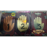 Gravity Falls Diario 1 A Color + Lampara Uv+pluma Tinta Invi