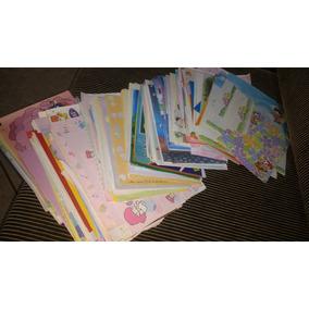 303 Papéis De Cartas Antigos Anos 80 + 51 Envelopes