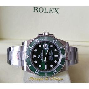 e1eb841b3fe Relogio Rolex Submariner Ceramica Fundo Verde - Relógio Masculino no ...