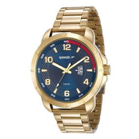 Relógio Speedo Masculino 24861gpevds1 Big Case Dourado
