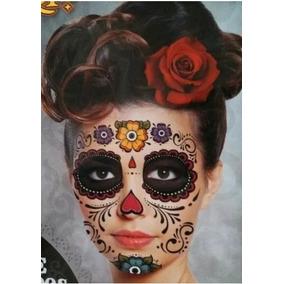 Tatuajes Temporales Dia De Muertos En Mercado Libre México
