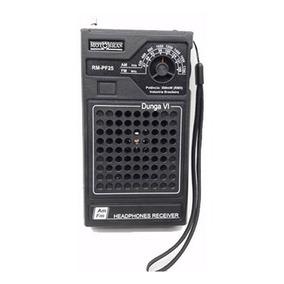 Rádio Portátil Motobrás Rm-pf25 Am/fm - 2 Faixas, Dunga V