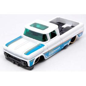 Hot Wheels Custom 62 Chevy Pickup 1/64 Blanca