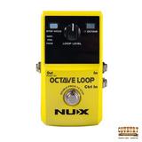 Pedal Nux Octave Loop - Octavador Y Looper Para Guitarra Elé