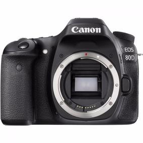 Câmera Canon Eos 80d (corpo) Pronta Entrega