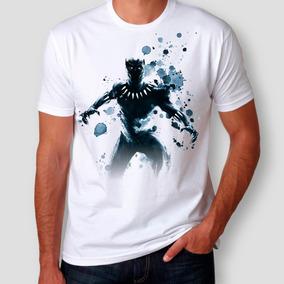 ac144bdba1 Camiseta Wakanda - Camisetas Manga Curta no Mercado Livre Brasil